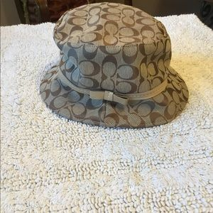 Coach Bucket Logo Hat